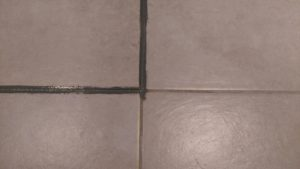 re-colouring grout